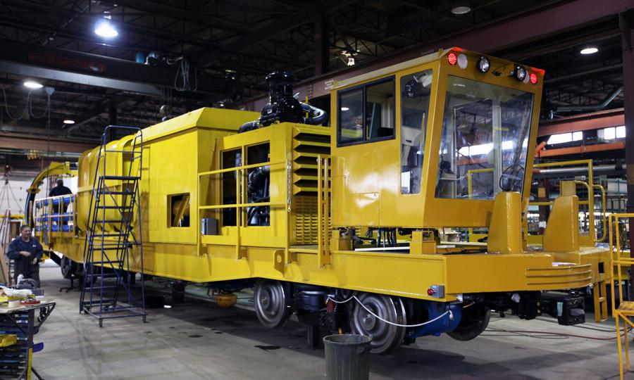 Custom Railcar Vacuum System