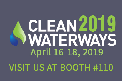 Visit us at the Clean Waterways Show 2019