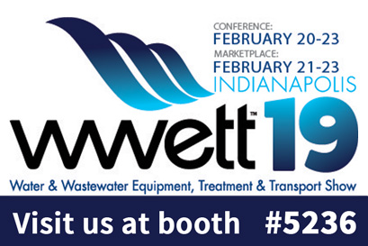 Visit us at WWETT 2019